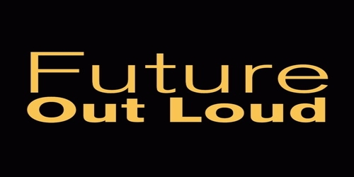 Logo of the Future Out Loud podcast