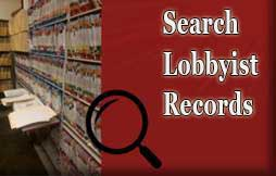 Button for search lobbyist records